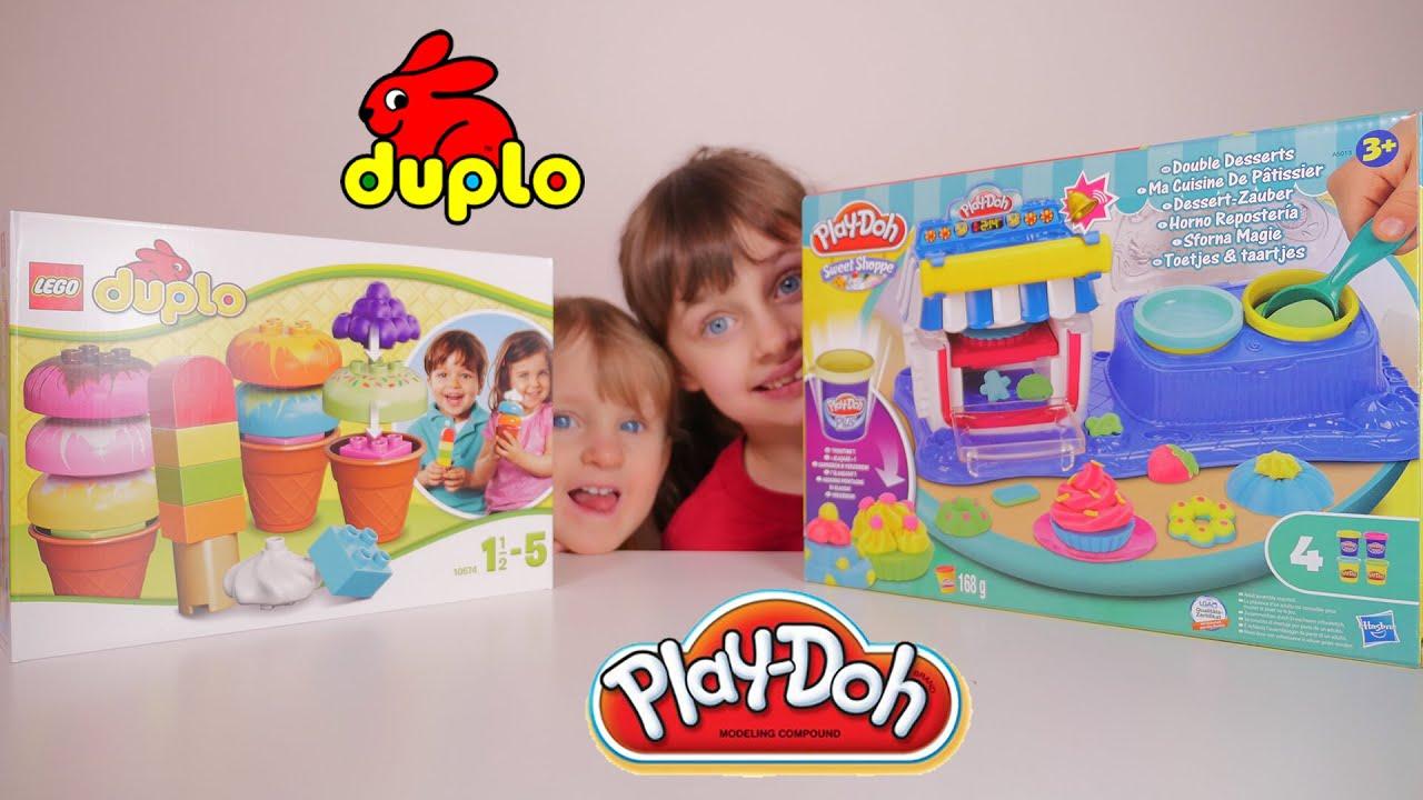 Jouet duplo creative ice cream play doh ma cuisine de for Play doh cuisine