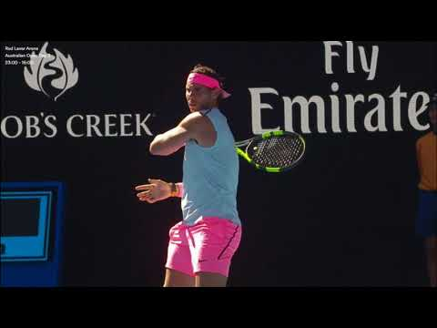 Australian Open 2nd Round – Rafael NADAL[1] (ESP) V Leonardo MAYER (ARG)