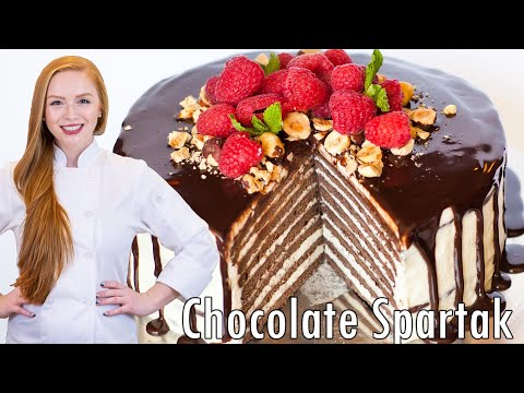 Chocolate Spartak - Торт Спартак