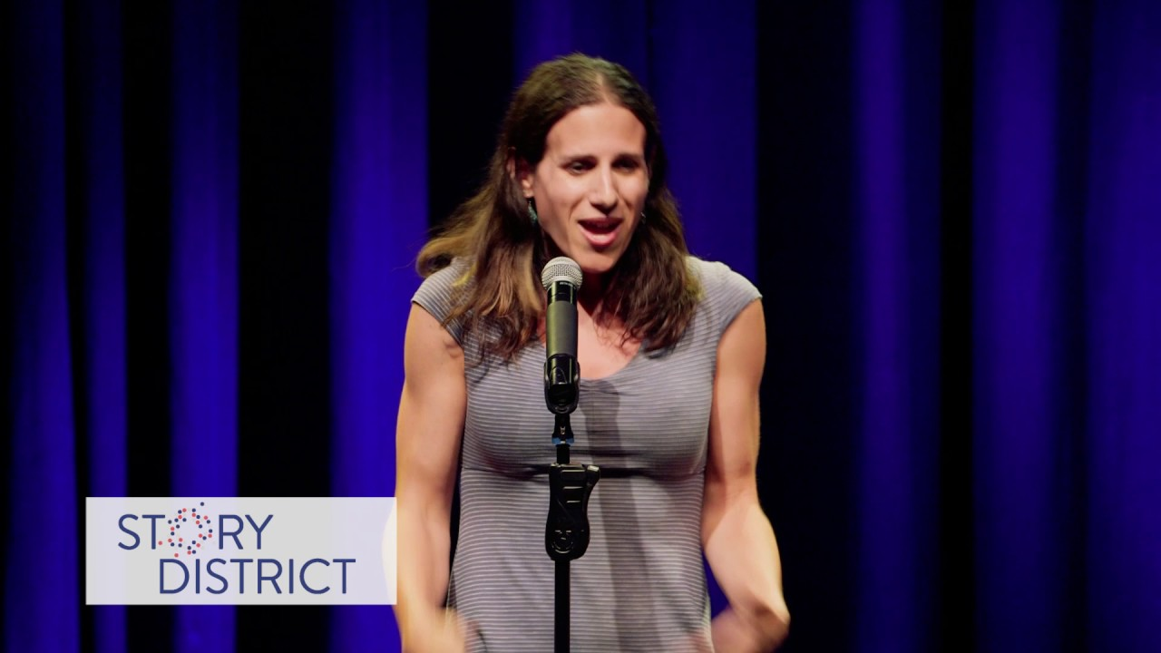 Rebecca Kling  in Story District's Out/Spoken DC 2017