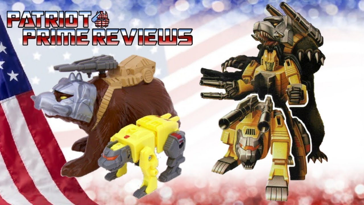 Throwback Thursday! G1 Pretender Beast Chainclaw By Patriot Prime Reviews