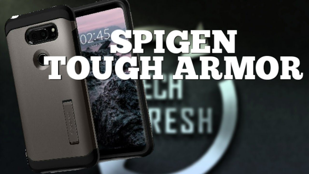 finest selection 572a0 3b47f LG V30 Spigen Tough Armor Case | Style And Protection