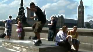 Skateboarding in London