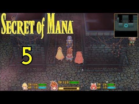 Let's Play Secret of Mana 3D Remake [German] [Part 05] Im Schloss der Hexe