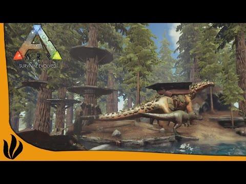 TITANOSAUR & BIOME REDWOOD - ARK: Survival Evolved
