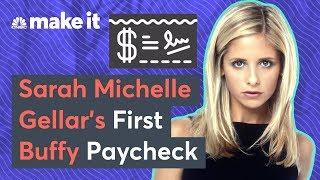 How Sarah Michelle Gellar Spent Her First Buffy Paycheck