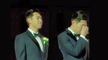 신랑을 울게한 친구의 반전 축사 (Eng Sub)