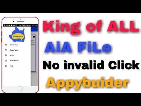 King of ALL AiA file,Like android studio, Appybuider AiA file
