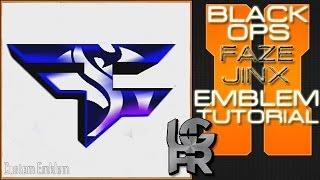 FaZe Jinx Logo : Call Of Duty Black Ops 2 Emblem Tutorial