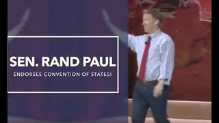 Rand Paul endorses Convention of States to rein in feds and strengthen Constitution