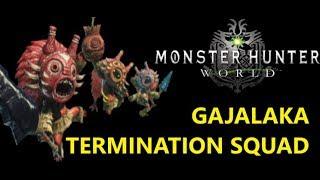 How to unlock the Gajalaka shellshock squad. 1000+ damage to Elder Dragons. Monster Hunter World