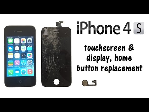 iphone home button on screen iphone 4s touch screen digitizer glass amp lcd display 17655