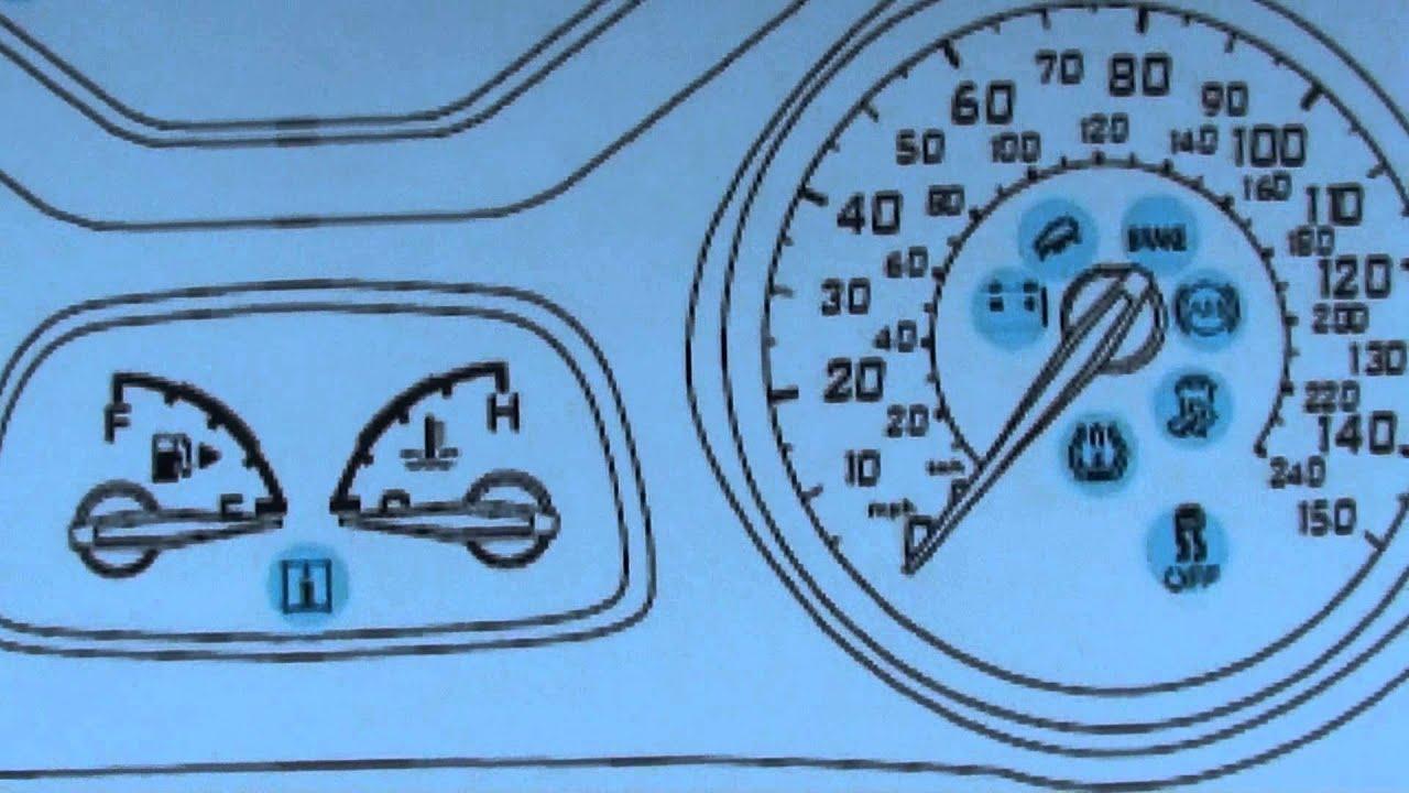 Ford Focus Mk3 Dashboard Warning Lights Symbols Diagnostic
