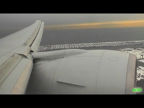 KLM SkyTeam 777-300ER Approach, Firm Landing and Taxi at New York JFK!