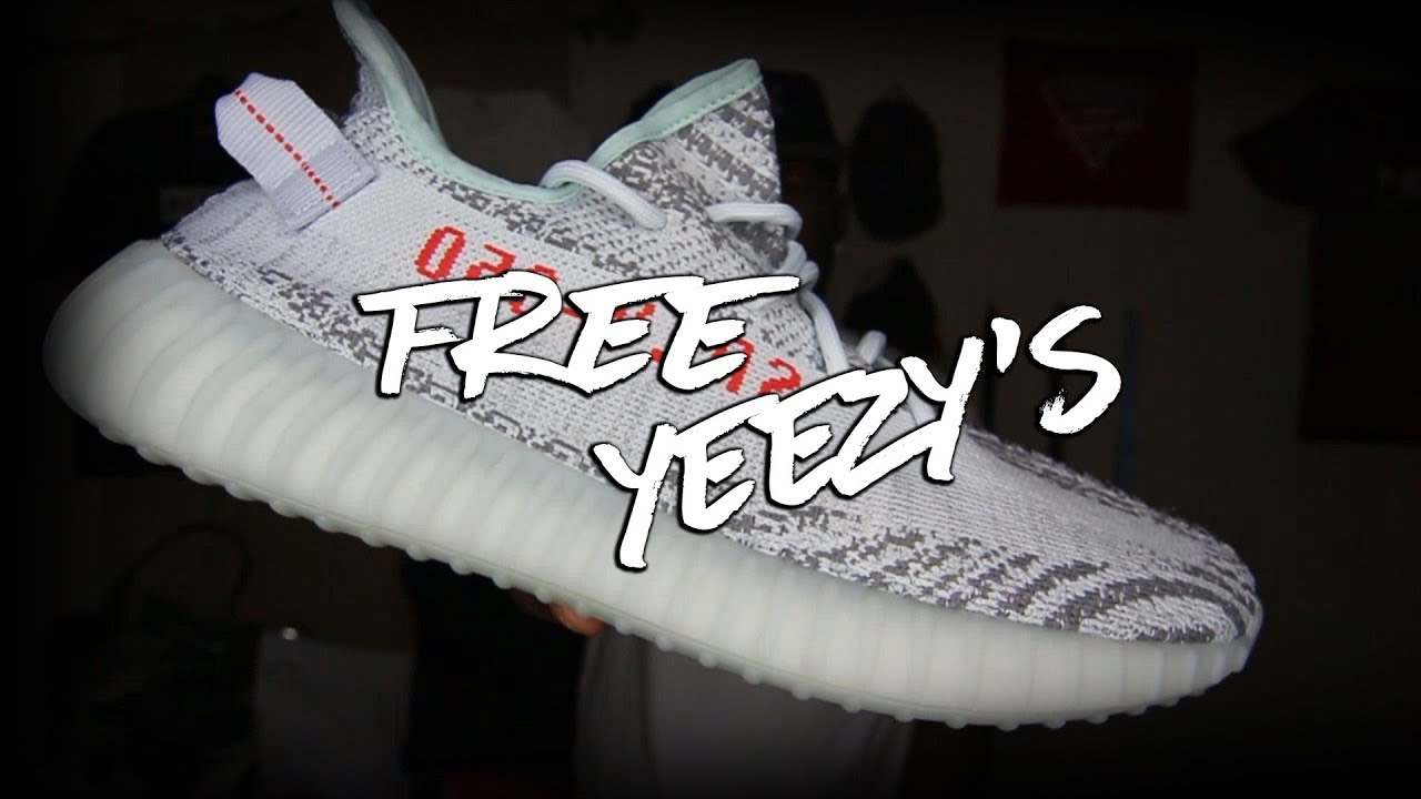 d0f2a70b0 FREE YEEZY BOOST 350 GIVEAWAY!  NOT CLICKBAIT