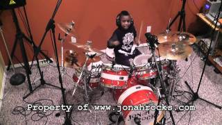 Blink 182 - Stay Together for the Kids, 6 Year Old Drummer, Jonah Rocks
