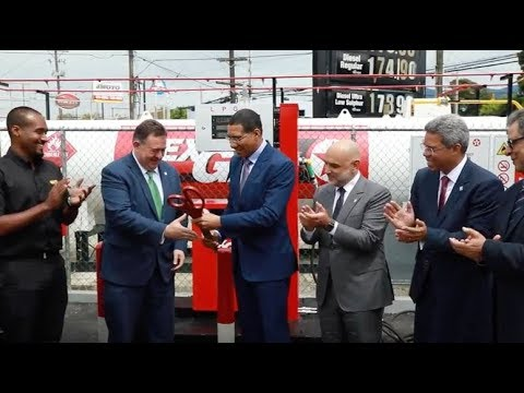 GB Energy Texaco Jamaica launches Autogas: LPG now offered as an alternative fuel!