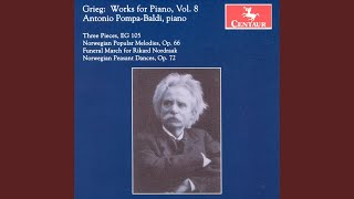 Slatter (Norwegian Dances) , Op. 72: No. 5. Pillar from the church-play
