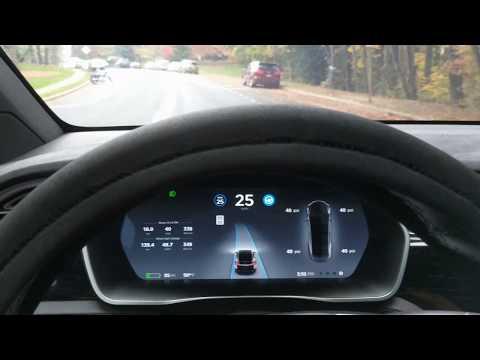 Tesla Self Driving AutoPilot ACCURACY TEST Video 019 | AP2