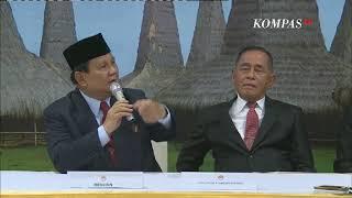 BREAKING NEWS - Sertijab Menteri Pertahanan kepada Prabowo Subianto