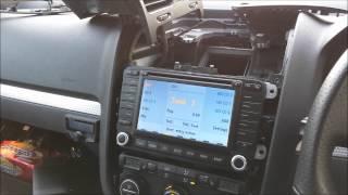 volkswagen golf mk5 r32 usb sd aux in audio interface for mdf2 addiction motorsport