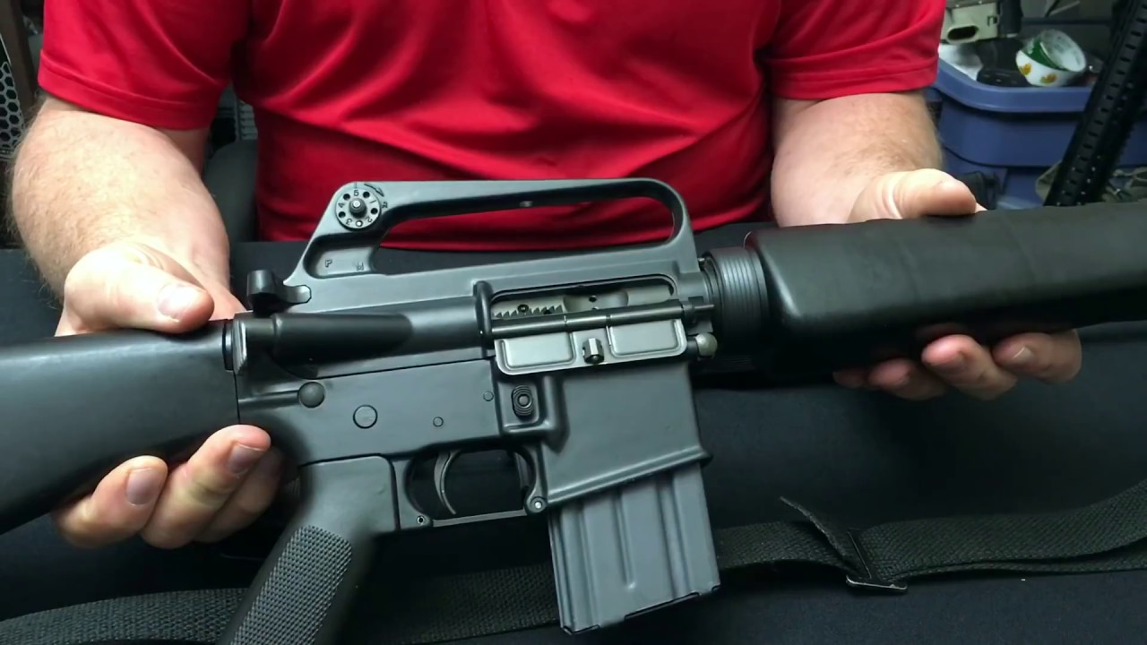 Cloning the M16A1 Family of Rifles - Смотреть видео