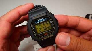 casio g shock dw 5600 eg 9vqd gold tone watch