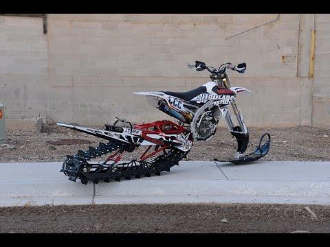 Snowest S Yz450f Timbersled Snow Bike Build Youtube