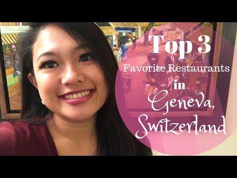 My Top 3 Favorite Restaurants in Geneva, Switzerland - Travel Vlog