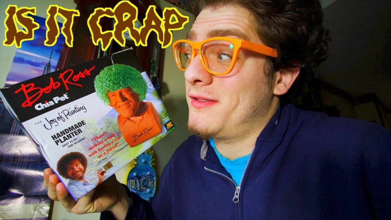 Is It Crap Bob Ross Chia Pet Youtube