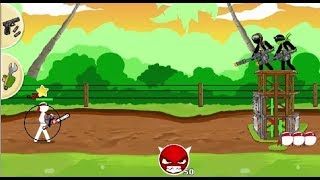 STICKMAN ARMY - THE RESISTANCE GAME LEVEL 1-10 WALKTHROUGH