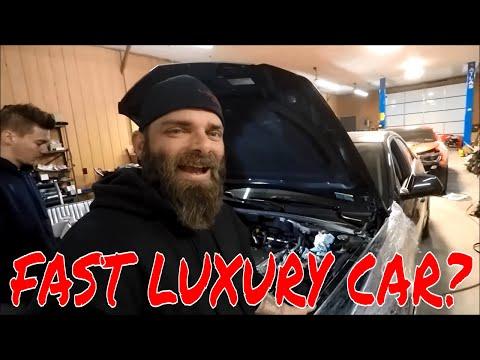 800HP Luxury Sedan, The Cadillac CTS-V