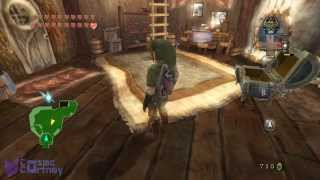 tLoZ - Twilight Princess HACKED - Music Pitch Doppler Effect