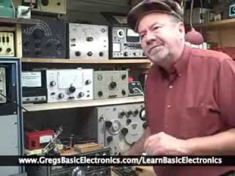 How to Learn  Electronics the Easy Way - Basic Electronics course and Tutorial