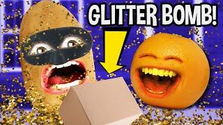 Annoying Orange - Glitter Bomb vs Porch Pirates!