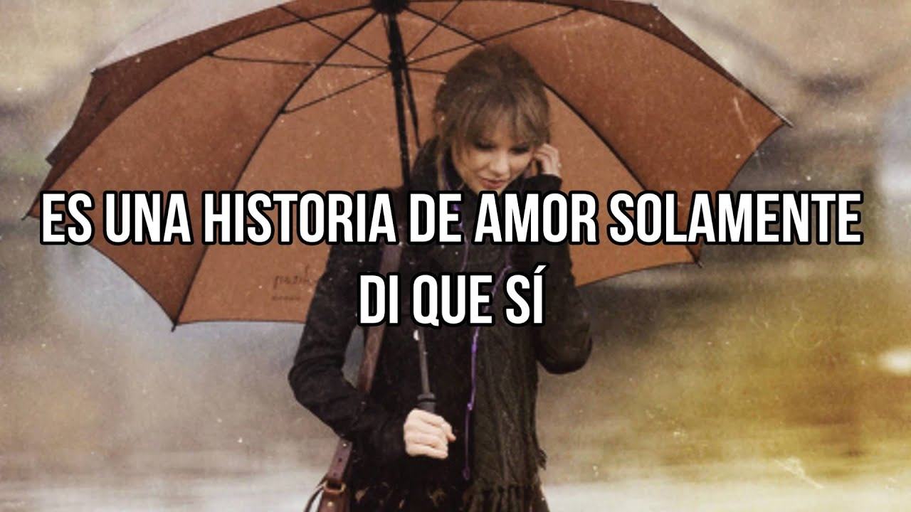 taylor swift love story subtitulada al espa241ol youtube
