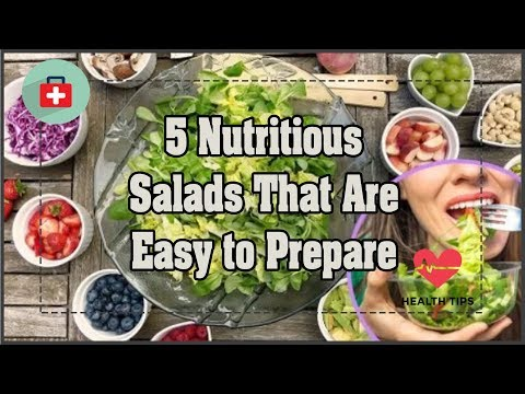 5 Nutritious Salads That Are Easy to Prepare | Health Today