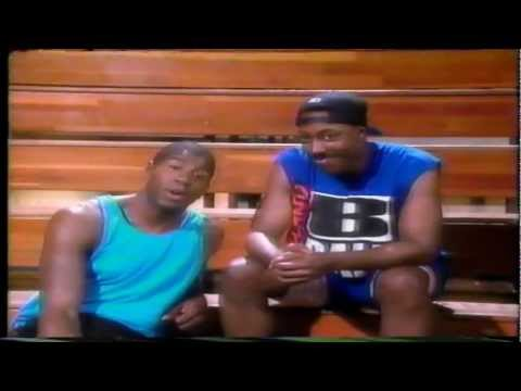 MAGIC JOHNSON and ARSENIO HALL aids commercial