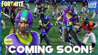 NFL SKINS COMING SOON! - FORTNITE BATTLE ROYALE - PS4 PRO