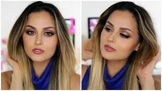 Drugstore Makeup Tutorial | Neutral Smokey Eye