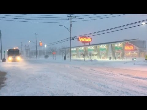 Wawa in Wildwood remains open during the winter storm