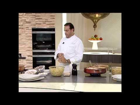 مكرونة بصلصة الطماطم والجزر Pasta with marinara sauce