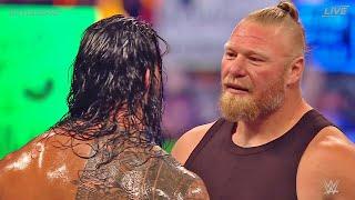 BROCK LESNAR RETURNS TO WWE Crowd Angry At WWE Summerslam 2021 Bray Wyatt To AEW Wrestling News