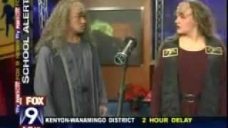 2007 fox9 preview and interview re a klingon christmas carol