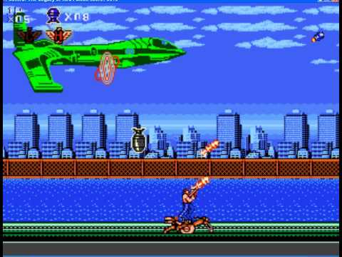 Contra - Legacy of Red Falcon (PC) (By Sting)