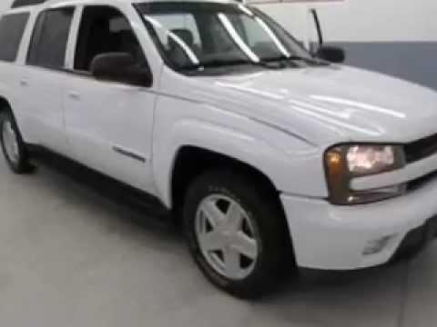 2002 Chevy Trailblazer EXT 4x4 White G12-117A Joyce Buick ...