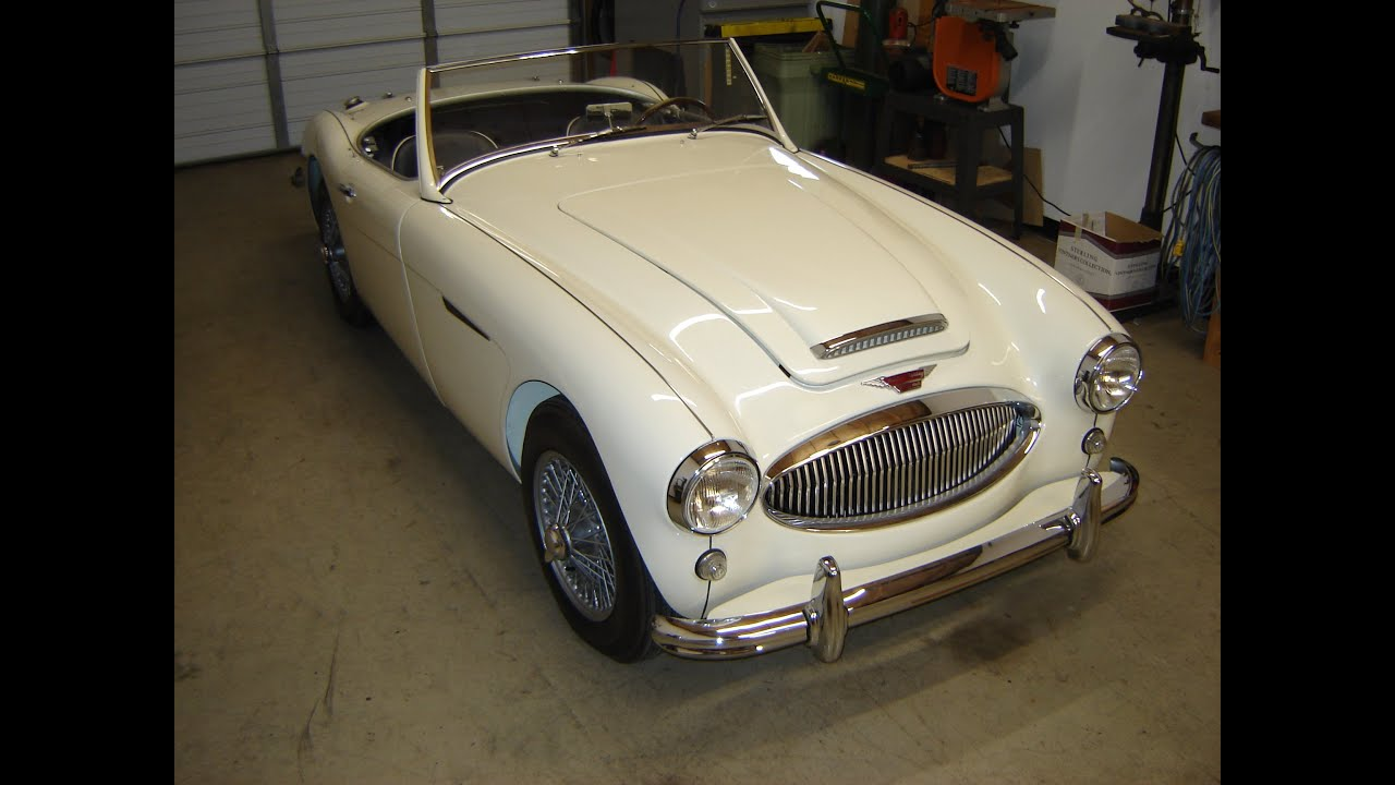 1962 austin healey bn7 by paul 39 s custom interiors auto upholstery youtube. Black Bedroom Furniture Sets. Home Design Ideas
