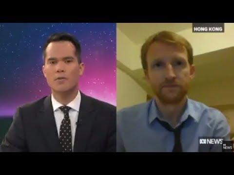 Tom Grundy on ABC News Australia: Typhoon Hata batters Hong Kong & Macau