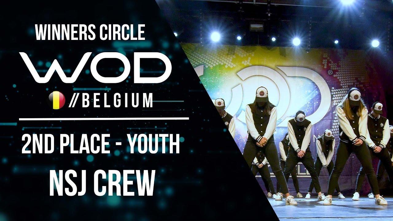 NSJ Crew   2nd Place Youth   World of Dance Belgium 2017 ...