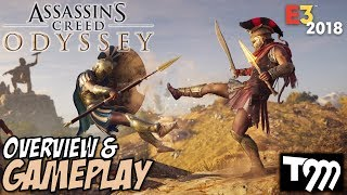 I AM LEGEND!! - Assassin's Creed Odyssey Gameplay & Overview E3 2018 - Kassandra